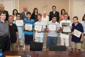 Town of North Hempstead Special Olympics Award